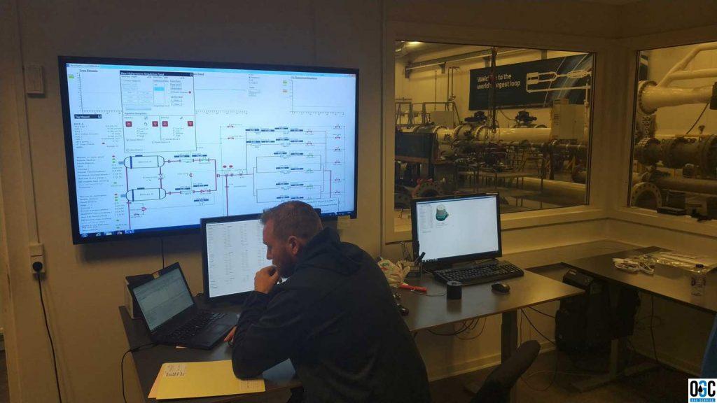 Фото: Поверка ультразвуковых расходомеров «Кроне» в Дании