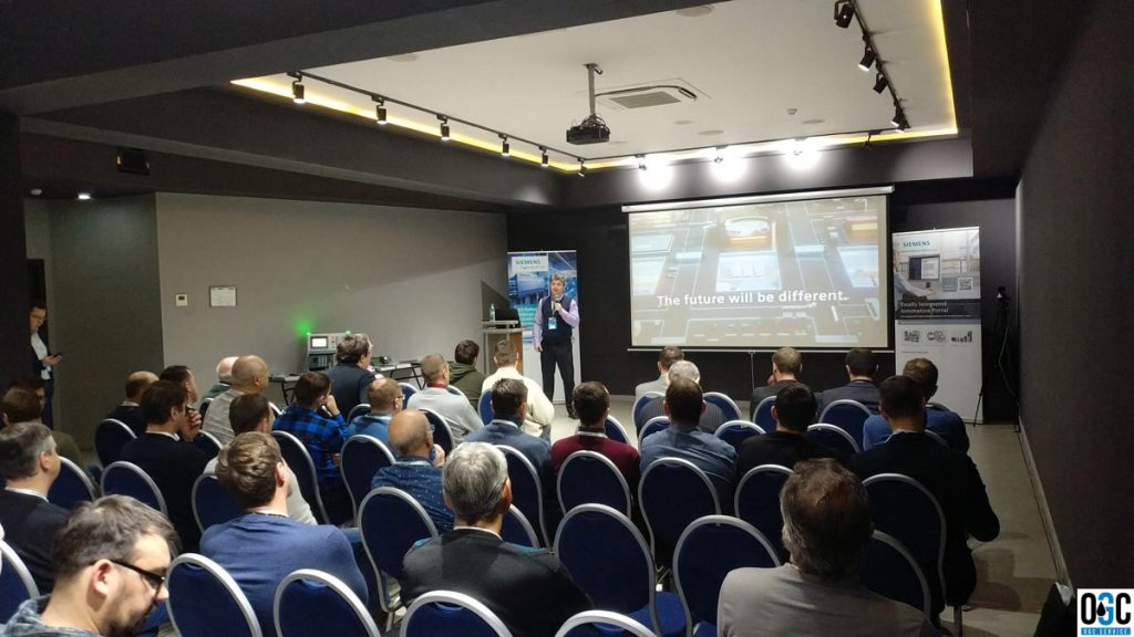 Фото: Специалисты OGCS на техническом семинаре Siemens