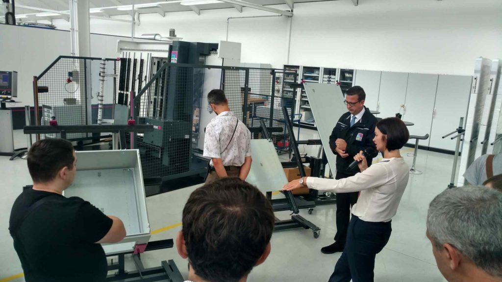 Посещение производства компании Rittal GmbH & Co. KG