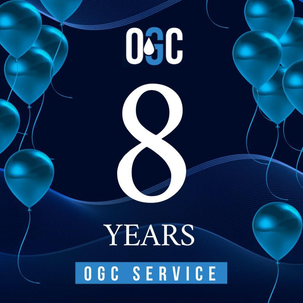 ООО «НЕФТЕГАЗХИМ СЕРВИС» отмечает 8 лет со дня своего основания!